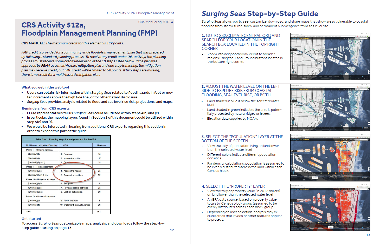 Surging Seas CRS Guide